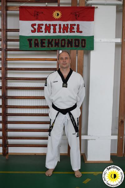 Hegyes Imre 4 danos Taekwondo Mester